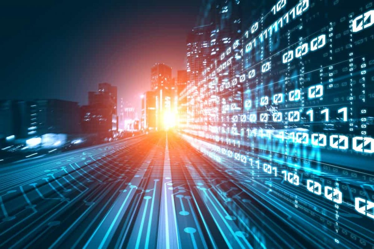 digital data flow